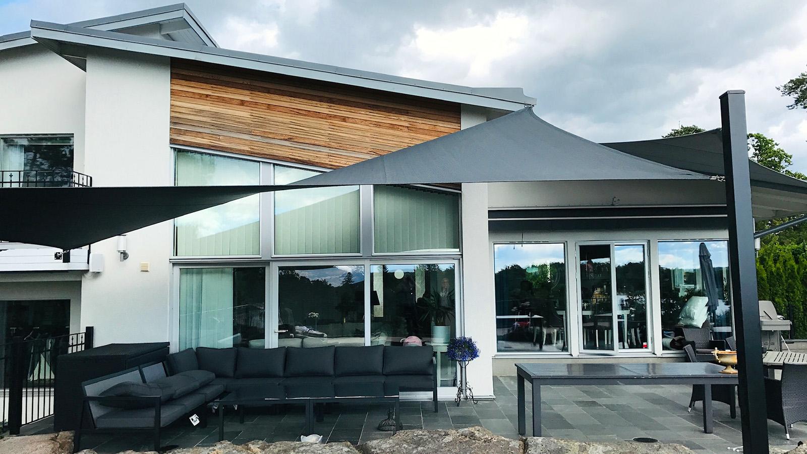 Designsegel villa
