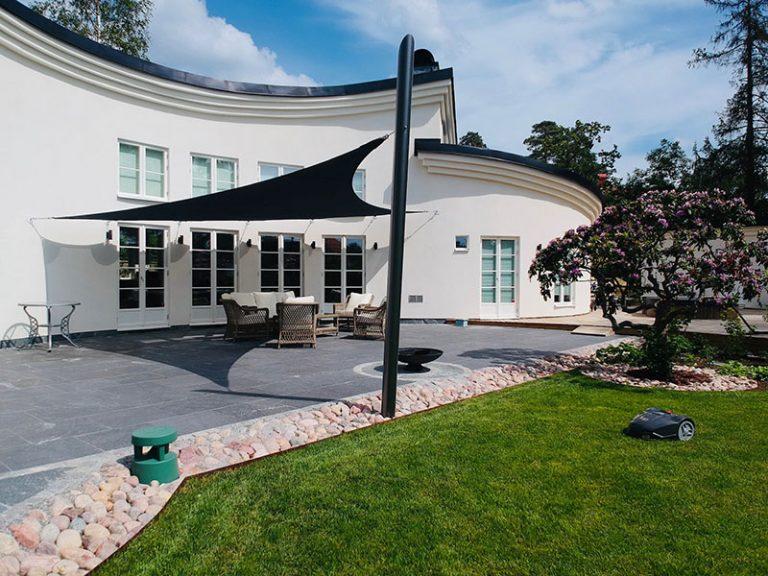 Arkitektritad villa